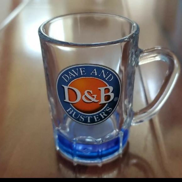 Dave and Buster's Shot Glass